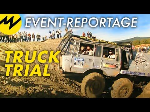 Event-Reportage: Truck Trial: Offroad-Monster graben sich präzise durch Unmengen von Schlamm