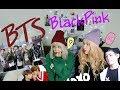 РЕАКЦИЯ НА K-POP (BTS, BLACKPINK,)