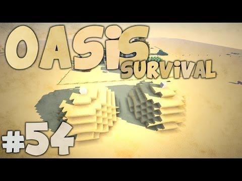 TIETEN BERGEN... - Minecraft: Oasis Survival #54