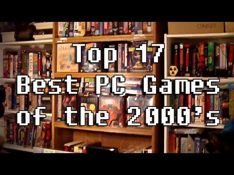 LGR - Top 17 Best PC Games of the 2000's