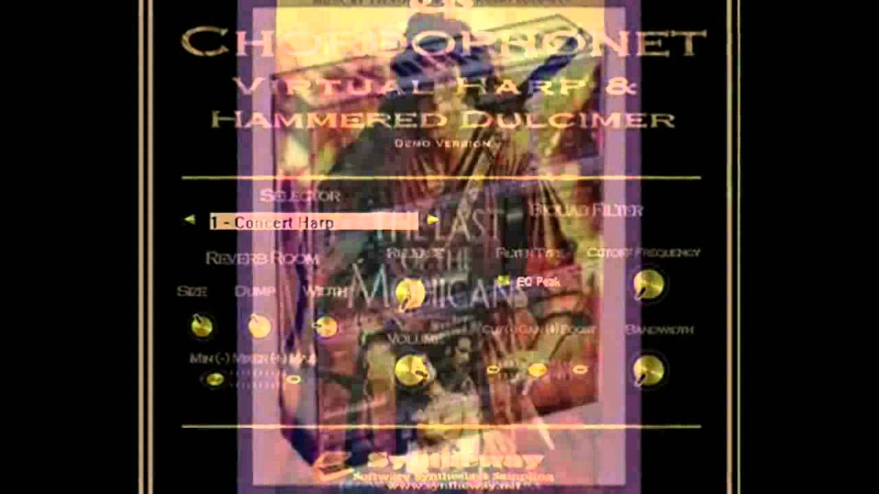 The Last of the Mohicans (Main Title) Syntheway Strings, DAL Flute, Chordophonet Virtual Harp VST - YouTube