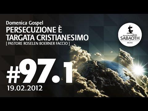 Domenica Gospel - 1 Aprile 2012 - Tu sei portatore di buone notizie - Pastore Roselen Faccio