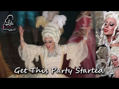"LaLa McCallan in ""Get This Party Started"" (Shirley Bassey version), a Modern Rococo Fantasy."