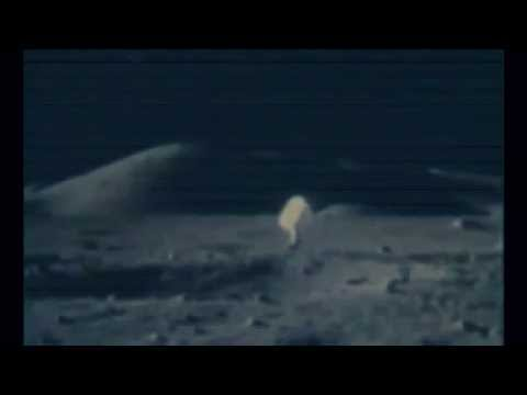 Strange object Ufo visits Moon Apollo 17-11 & Space Shuttle