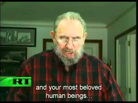 Fidel Castro talks nuclear war to Prof. Michel Chossudovsky