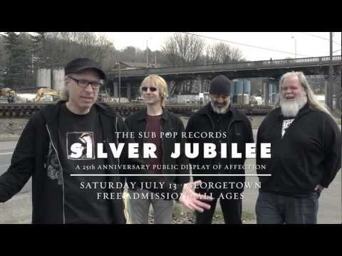 News: Sub Pop Announces Free Silver Jubilee Showcase