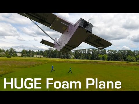 RCTESTFLIGHT - Huge Foam RC Plane - UCq2rNse2XX4Rjzmldv9GqrQ