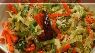 Stir-Fry Cabbage Salad ..