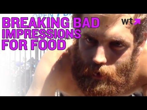 Breaking Bad Impressions By Homeless Man For Food | What's Trending Now
