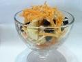 Как сделать вкусный салат из моркови с фруктами Carrot salad