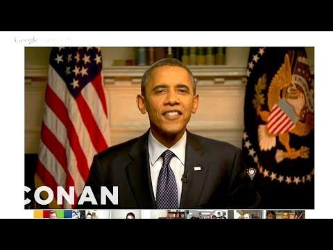Obama's Google Hangout Surprise Guest