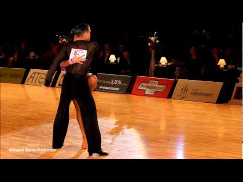 34th Copenhagen Open - GrandSlam Latin - solo Jive - Andrey Zaytsev &amp; Anna Kuzminskaya