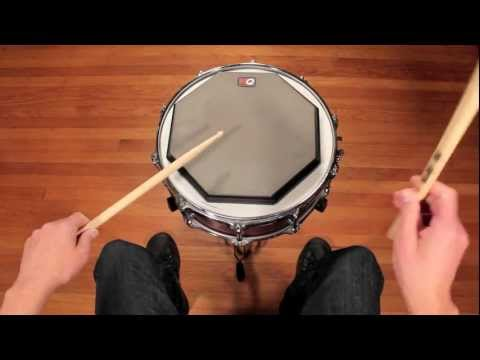 Drum Lesson - Hand Technique: German Grip