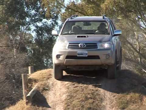 Routiere Test Toyota Hilux SW4 SRV Aut Parte 2