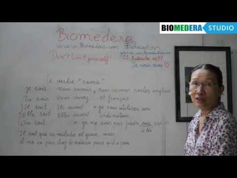 Bài 34: Cách sử dụng động từ savoir trong tiếng Pháp - Le verbe savoir