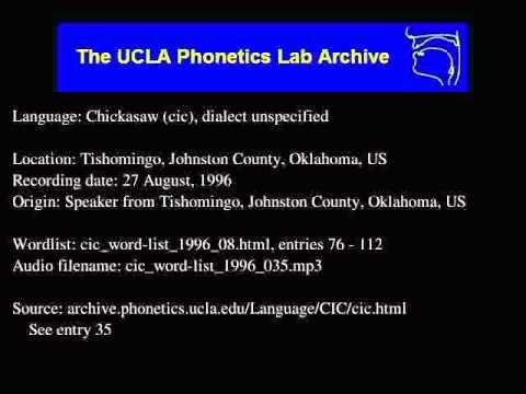 Chickasaw audio: cic_word-list_1996_035