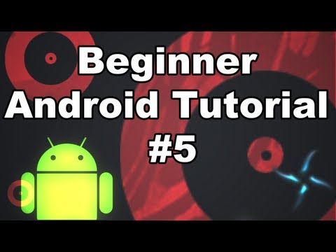 Android The Basics 5- XML made Simple & Java Intro