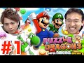 【パズマリ】#1 マリオでパズドラ!発売前に先行プレイするぞ!