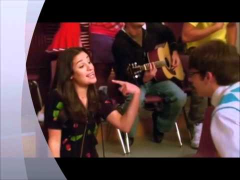 Ride with me - Glee scene