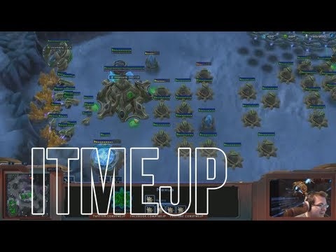 "Day[9] guides JP in a PvZ with ""The Build"""