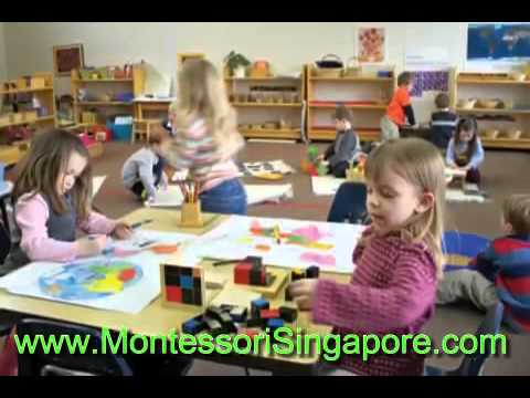 Maria Montessori Method Preschool - Montessori Singapore