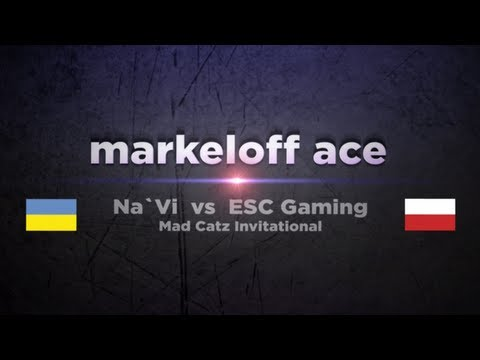 Na`Vi markeloff vs ESC @ Mad Catz Invitational