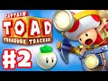 Captain Toad: Treasure Tracker - Gameplay Walkthrough Part 2 - The Chase to Pyropuff Peak 100%