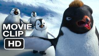 Happy Feet Two Movie CLIP - Robin WIlliams, Cute But Ruthless (2011) HD