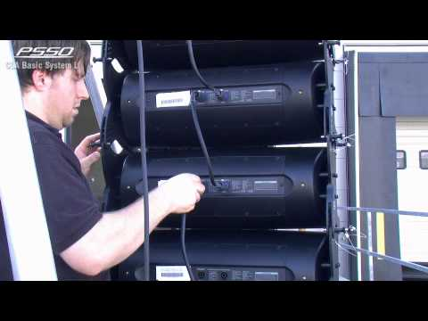 PSSO LINE ARRAY ASSEMBLING