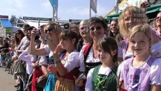 Wiesn 2011 - Einzug der Festwirte (Video: Hanns Gröner)
