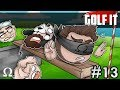 SALTY BALLS ON THE BALANCE BEAM! | Golf It Funny Moments #13 Ft. Jiggly, Mini, Kryoz