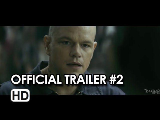 Elysium Official Trailer #2 (2013) - Matt Damon, Jodie Foster Sci-Fi Movie HD