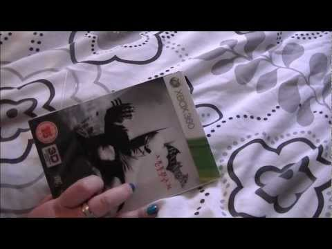 ASMR Relaxing Silent Unboxing - HMV Exclusive Batman Arkham City 360 Game