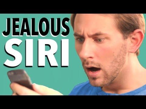 ¿Te imaginas a Siri en modo mujer celosa?