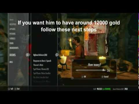 Skyrim | Infinite Gold (1 Million Gold fast) and Golden Touch Achievement Guide