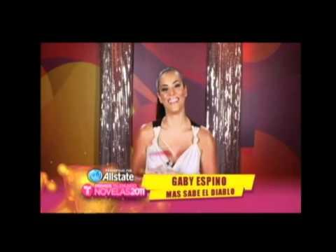 Gaby Espino - Mejor actriz protagonica en Premios Novelas 2011