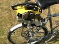 Chainsaw Bicycle homemade motorized jackshaft bike
