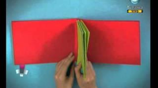 Caja rodante: Hoy te mostramos cómo: Libro en origami - 31-03-11