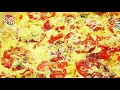 Пицца Маргарита на слоёном тесте. Просто, вкусно, недорого.