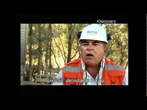 Chile Miners Rescue - The Story (1/3) - Capsule raises trapped men to surface -