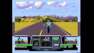 Classic Game Room - ROAD RASH 3 for Sega Genesis review view on youtube.com tube online.