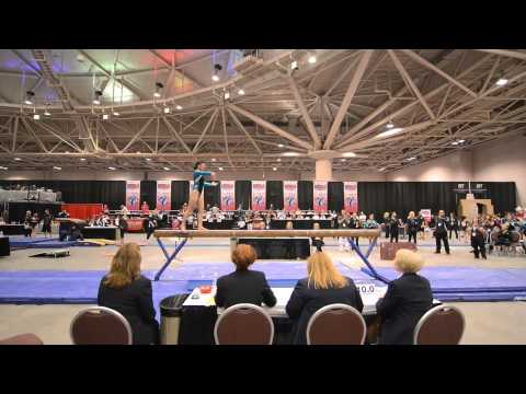 Kari Lee - Beam - 2013 JO Nationals SRA AA Champion