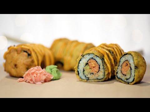 Spicy Tuna Roll Corn Dog | Eat the Trend