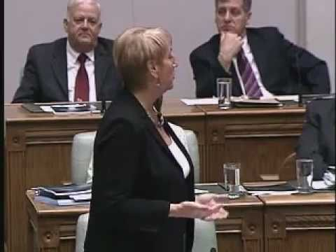 Kathy Dunderdale on Budget 2011 . . . Commitment