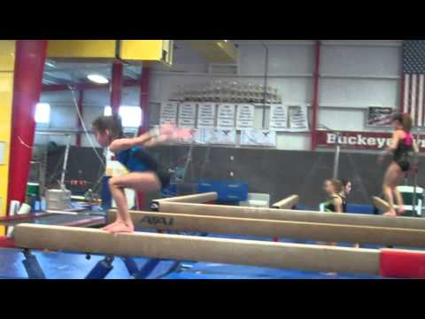 Nikki Beckwith Buckeye Gymnastics 10 Years old