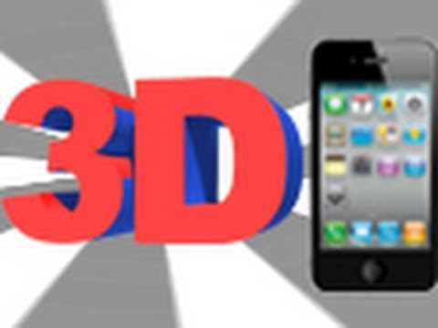 3D Effect For iPhone 4 And iPod Touch 4th Gen