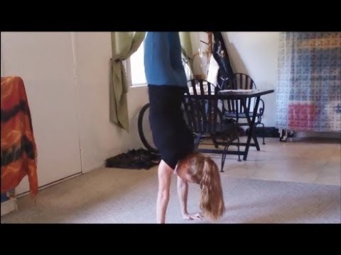 How To Do A Handstand With Coach Meggin