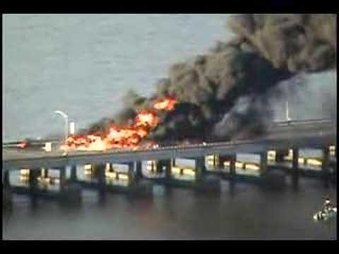 TZ Bridge Terrible Accident & Fire