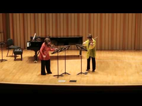 Kristapor Najarian - A Tale for Two Violins, World Premiere performance