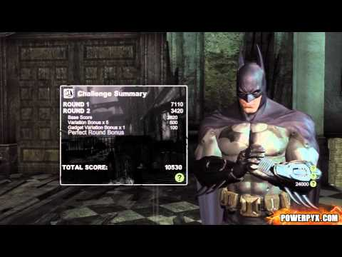 Batman: Arkham City - Combat Challenge 1 (Blind Justice) - 35110 Points + Freeflow Fighter 2.0 Guide